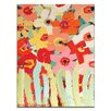 Artist Lane Blooms by Anna Blatman Art Print Wrapped on Canvas