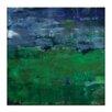 "Artist Lane Leinwandbild ""Views Across The Valley"" von Sally Adams, Kunstdruck"