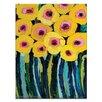 """Artist Lane Leinwandbild """"Yellow Blooms"""" von Anna Blatman, Kunstdruck"""
