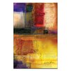 Artist Lane Abstraction No.31 by Kathy Morton Stanion Art Print Wrapped on Canvas