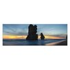 Artist Lane Twilight Apostles by Andrew Brown Photographic Print Wrapped on Canvas