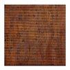 Artist Lane Leinwandbild Burnt Orange Grid 2, Kunstdruck von Katherine Boland