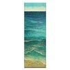 Artist Lane Ocean Shore 2 by Jennifer Webb Art Print Wrapped on Canvas