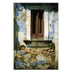 Artist Lane Doors of Italy - Piccola Finestra by Joe Vittorio Photographic Print Wrapped on Canvas