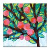 Artist Lane Red Apple by Anna Blatman Art Print on Canvas