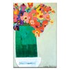 Artist Lane Green Vase by Anna Blatman Art Print on Canvas