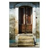 Artist Lane Doors of Italy - La Mia Porta by Joe Vittorio Photographic Print Wrapped on Canvas