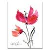 "Artist Lane Leinwandbild ""Abstract Floral"" von Kathy Morton Stanion, Kunstdruck"