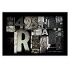 Artist Lane Custom Type by Steve Leadbeater Photographic Print on Canvas