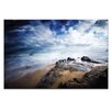 Artist Lane Sea Rush by Caroline Gorka Photographic Print Wrapped on Canvas