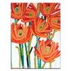 """Artist Lane Leinwandbild """"Orange Buds"""" von Anna Blatman, Kunstdruck"""