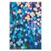 """Artist Lane Leinwandbild """"Mauve Flower Bed"""" von Anna Blatman, Kunstdruck"""
