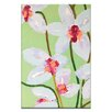 Artist Lane Orchids 2 by Anna Blatman Art Print Wrapped on Canvas