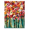 "Artist Lane Leinwandbild ""Lovely Poppies"" von Anna Blatman, Bilddruck"