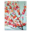 Artist Lane Magnolia Bloom by Anna Blatman Art Print on Canvas