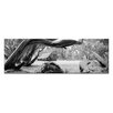 Artist Lane Snow Shelter by Andrew Brown Photographic Print on Canvas in Black/White