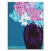 """Artist Lane Leinwandbild """"Purples"""" von Anna Blatman, Kunstdruck"""
