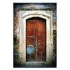 "Artist Lane Leinwandbild ""Doors of Italy - Macchia Blu"" von Joe Vittorio, Fotodruck"