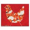 """Artist Lane Leinwandbild """"Red Bird"""" von Anna Blatman, Bilddruck"""