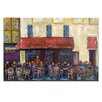Artist Lane Cafe by Anna Blatman Art Print on Canvas