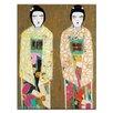 "Artist Lane Leinwandbild ""Double Geisha"" von Anna Blatman, Bilddruck"