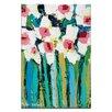 """Artist Lane Leinwandbild """"Field Daisies"""" von Anna Blatman, Kunstdruck"""