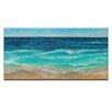 Artist Lane Peaceful Sea by Jennifer Webb Art Print Wrapped on Canvas