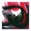 Artist Lane Passion Dance No.1 by Kathy Morton Stanion Art Print Wrapped on Canvas