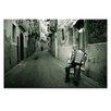 Artist Lane La Fisarmonica by Joe Vittorio Photographic Print Wrapped on Canvas