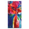 Artist Lane Floral Fantasy 22 by Kathy Morton Stanion Art Print Wrapped on Canvas