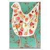 """Artist Lane Leinwandbild """"Flower Birds"""" von Anna Blatman, Kunstdruck"""