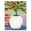 "Artist Lane Leinwandbild ""Lemon Tree in Pot"" von Anna Blatman, Bilddruck"