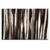 Artist Lane Treeline #7 by Katherine Boland Art Print Wrapped on Canvas in Black/Grey