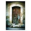 Artist Lane Doors of Italy - Pietra Mancante by Joe Vittorio Photographic Print Wrapped on Canvas