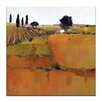 Artist Lane Down to Earth by Catherine Fitzgerald Art Print on Canvas