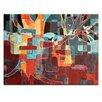 Artist Lane Leinwandbild All in the One Tree, Grafikdruck