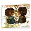 Artist Lane Friends by Karin Taylor Art Print Wrapped on Canvas