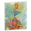 Artist Lane Dancing on Rooftops by Karin Taylor Art Print Wrapped on Canvas