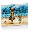 "Artist Lane Leinwandbild ""Beachcombers"" von Karin Taylor, Grafikdruck"