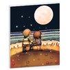 """Artist Lane Leinwandbild """"The Stars, the Moon and the Tide"""" von Karin Taylor, Kunstdruck"""