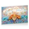 Artist Lane Summer Clouds by Karin Taylor Art Print Wrapped on Canvas