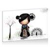 "Artist Lane Leinwandbild ""Patchwork Kimono"" von Karin Taylor, Grafikdruck"