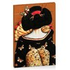Artist Lane Geisha Girl by Karin Taylor Art Print Wrapped on Canvas