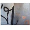 Artist Lane Blessington St by Katherine Boland Art Print on Canvas in Grey