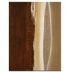 Artist Lane In Time and Space 3 by Katherine Boland Art Print Wrapped on Canvas in Brown