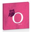 Artist Lane O for Owl by Toni Prime Graphic Art Wrapped on Canvas in Black/White