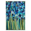 Artist Lane Iris by Anna Blatman Art Print on Canvas