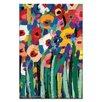 """Artist Lane Leinwandbild """"Magic Poppies"""" von Anna Blatman, Kunstdruck"""
