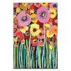 Artist Lane Pair Poppy by Anna Blatman Art Print on Canvas