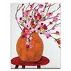 "Artist Lane Leinwandbild ""Magnolia Pot"" von Anna Blatman, Kunstdruck"